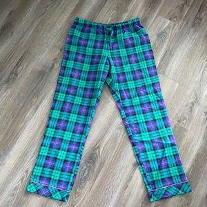 La Vie En Rose Plaid Pyjama Pants
